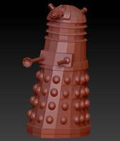3D WIP : Dr Who Dalek by CrimsonStrife