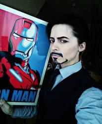 Tony Stark by Diyaco