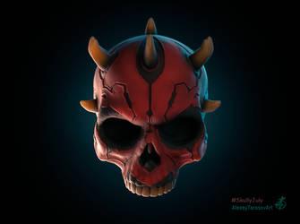 Darth Maul skull by Sketcher730