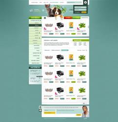 Petshop e-commerce design by HeartcoreCZ