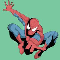 Spider-man by emeraldmew