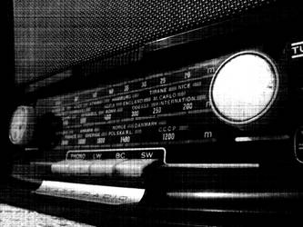 old radio I by dilhan