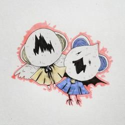 Twins by Uw0
