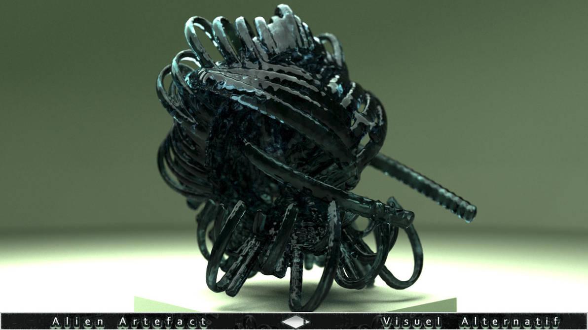 Alien Artefact by visuelalternatif