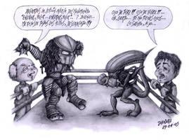 Alien vs Predator by Takateru
