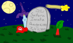 Iwata, we'll miss you! by rabbidlover01