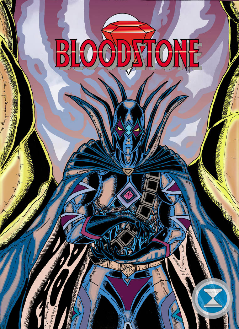 Blood Stone Comic Cover by DM-SketchAlchemist