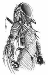 female predator by yacobucci