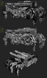 Krabtank WIP1 by chiaroscuro