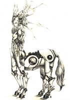 centauress by CHRU