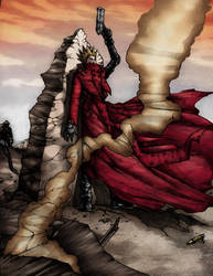 Vash the Stampede Coloured by CHRU