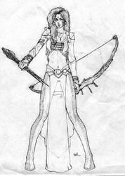 Sindra sketch1 by CHRU