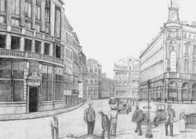 Madrid - 1920 by wiatrP1