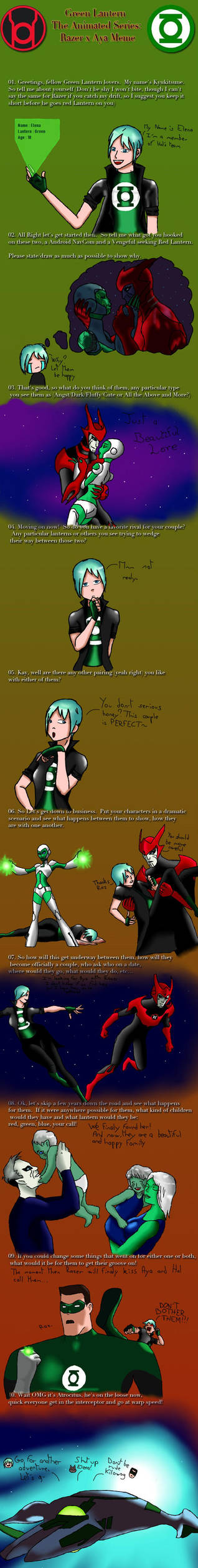 Green Lantern, the animated series : Oc Meme by Edeliou