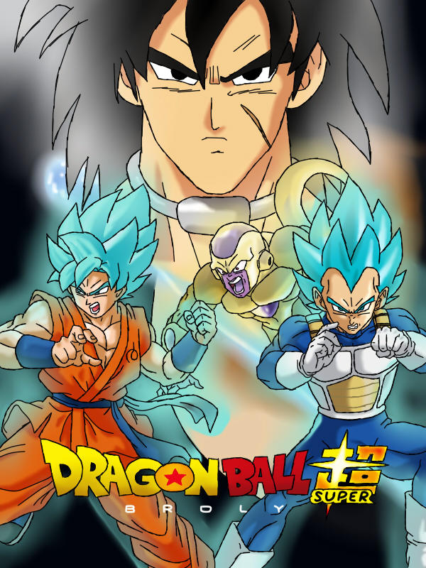 Dragon ball Super : Broly by Edeliou