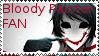 Bloody Painter - Fan Stamp by BlackMambaZANE
