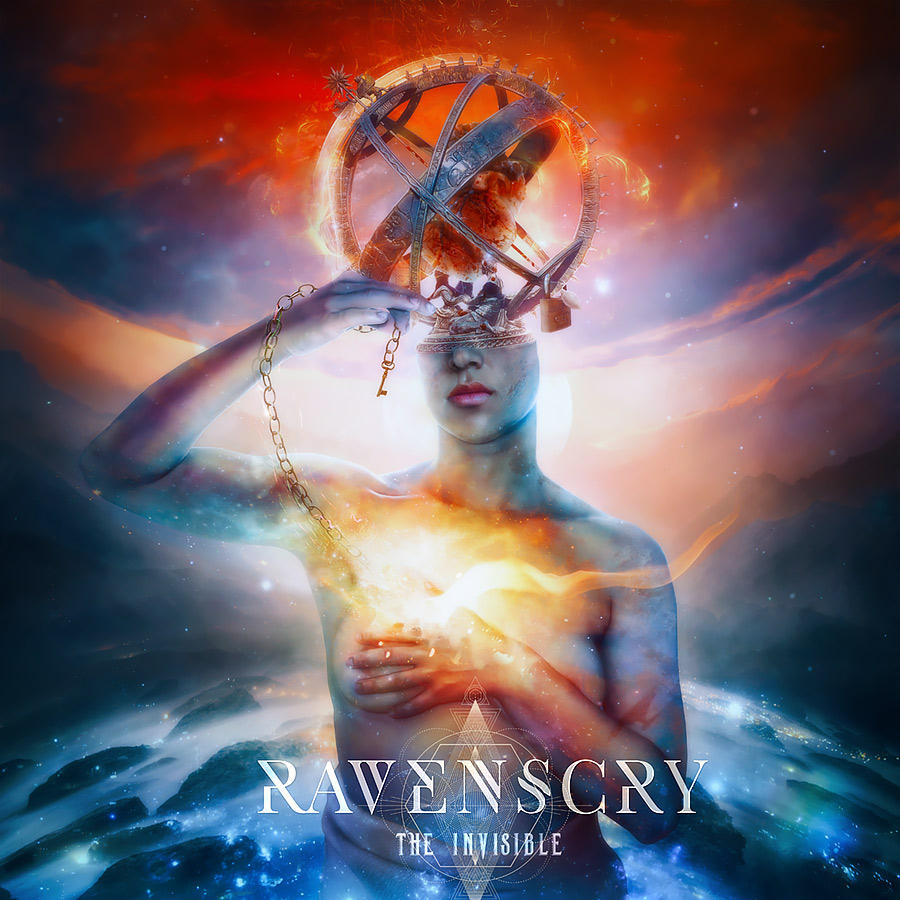 Ravenscry - The Invisible CD Cover Artwork by Aegis-Illustration