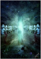 Hallways of Always by Aegis-Illustration