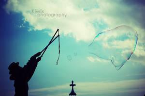 Le marchand de bulles by eulalievarenne