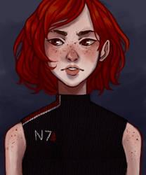 Shepard by Mellobird