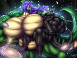 Galactic Besties by Thorvrog