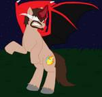The Pony In The Darkest Legends by HerobrineSings