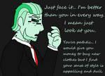 Just Face It by HerobrineSings