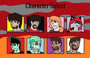 Character Select by HerobrineSings