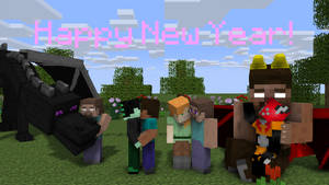 Happy New Year! by HerobrineSings