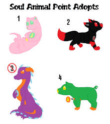 CHEAP POINT ADOPTS - Soul Animals by HerobrineSings