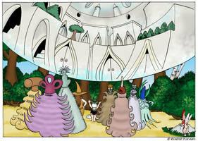 Invasion page 118-ish by Reinder