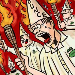 Tiki torch nazis avatar by Reinder