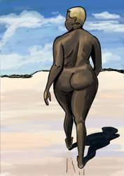Fatvent Calendar Day 5: Deserted Beach by Reinder