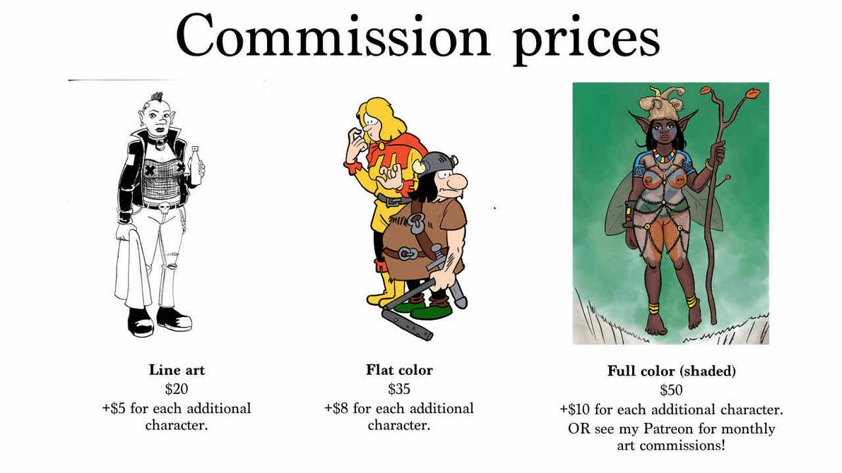 Commissions are open by Reinder