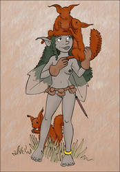 Sash the Squirrel Wrangler by Reinder