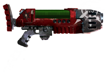 Warhammer 40k Chaos Plasma Gun by darth0lord