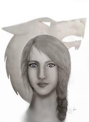 Arya Stark by VKCole