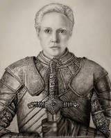 Brienne of Tarth by VKCole