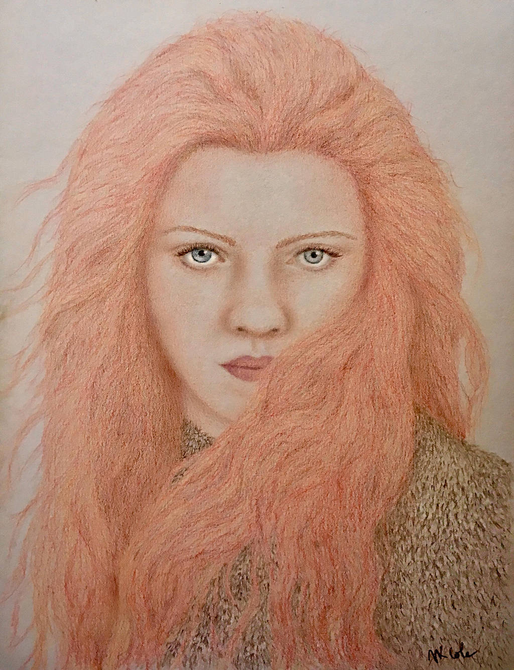 Kissed by Fire by VKCole