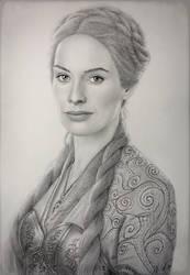 Cersei Lannister  by VKCole