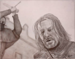 The Death of Eddard Stark by VKCole
