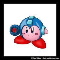 - Megaman Kirby Hat - by kinky-angel