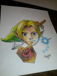 Link's face by Rinkardo