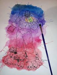 Thanos!!!!!!!!! by Rinkardo