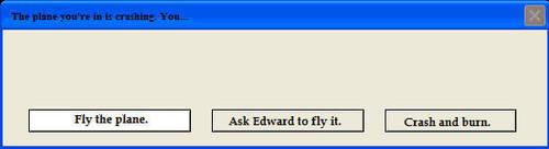 Plane Crashing by EdwardsLamb