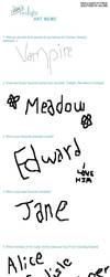Twilight Art Meme by EdwardsLamb