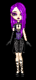 Me With Completely Purple Hair by EdwardsLamb