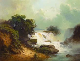 Waterfall by olejny