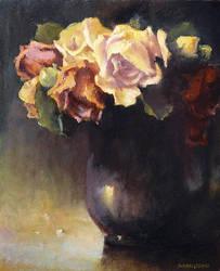 Still life 8 - Roses by olejny