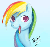Rainbow Dash - Taste the Rainbow by Dashy21